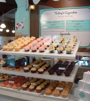 I would love to open a cupcakery with Monica. What could be better than making cupcakes all day? :)