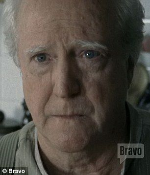 Favourite moment: The actress shared a scene with Scott Wilson portraying her father