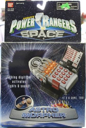 Power Rangers in Space Astro Morpher