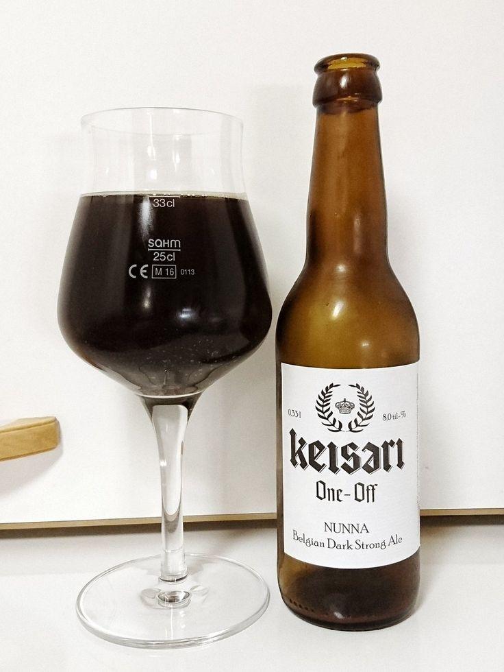 Nokian Panimo - Keisari One-Off Nunna Belgian Dark Strong Ale 8,0% pullo**** (9.10.2017 KOTONA)