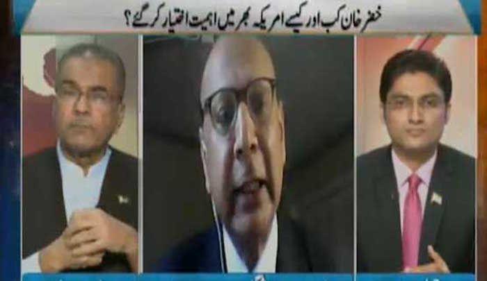 Khizr Khan on Pakistani news channel: Allah is making Trump make mistakes