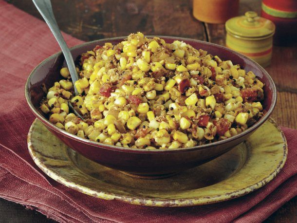 Sweet Corn with Toasted Coconut (Thénga Makkaí) from 'Indian Cooking ...