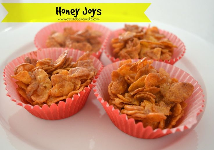 Honey Joys are just one of those treats that seem to only be associated with parties.