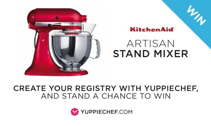 Win a #KitchenAid Artisan Stand Mixer with #Yuppiechef