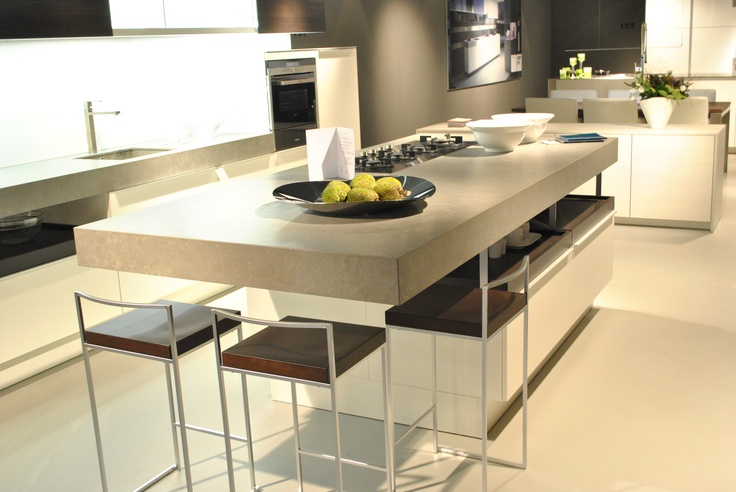 Keukenwerkblad Pitt Cooking Erbi Quartz Concreto