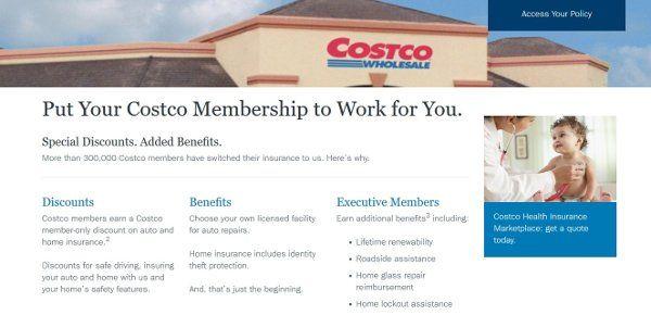 Costco Auto Insurance Review Car Insurance Costco Insurance
