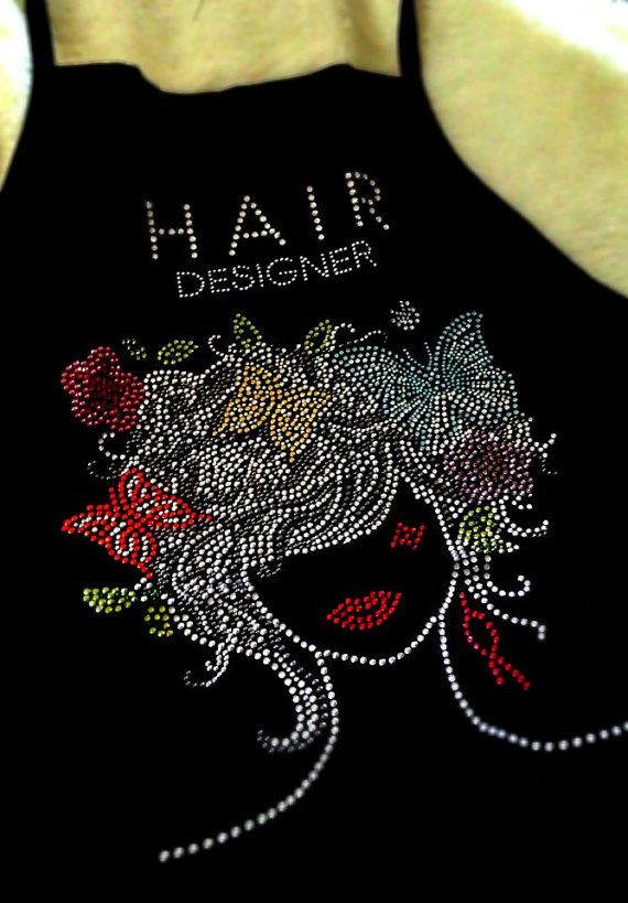 Hey, I found this really awesome Etsy listing at https://www.etsy.com/listing/190128243/stylish-hair-stylist-apron-with-jeweled