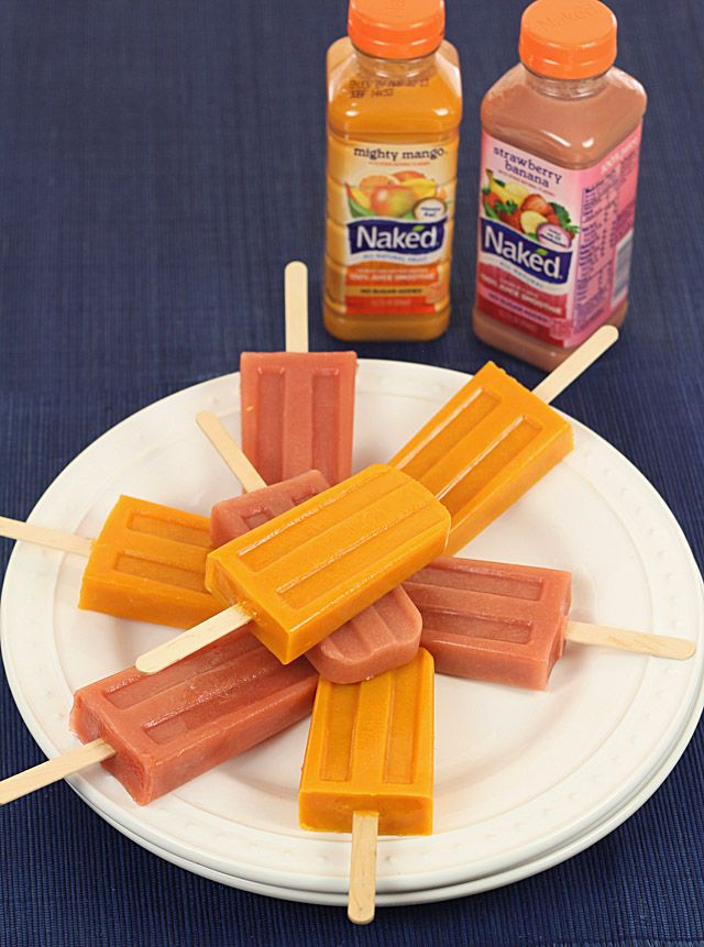 Naked Juice Pops for #Waunstrong Wednesday — Creative Culinary :: Food & Cocktail Recipes - A Denver, Colorado Food & Cocktail Blog