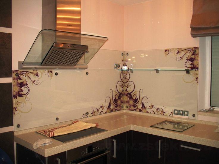 Фартук для кухни из стекла  Одно из современных решений в дизайне – кухонные фартуки из стекла. Это стеклянные панели, которые крепятся на стену между навесными шкафами и столешницами кухонного гарнитура. Широкие возможности для оформления делают их яркими дизайнерскими элементами, которые оживляют обстановку. Кроме того, кухонный фартук из стекла, купить который вы сможете в нашей компании, – это не только деталь декора, но и функциональный элемент, защищающий стены от загрязнений. Гладкой…