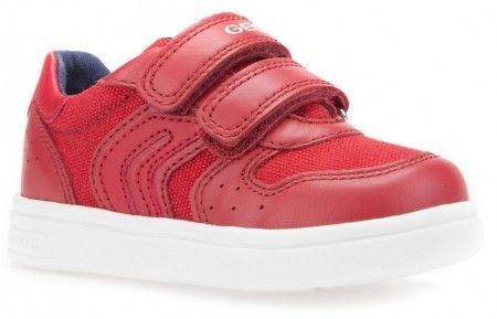 Geox DJ Rock Red Trainers - Geox Kids Shoes - Little Wanderers
