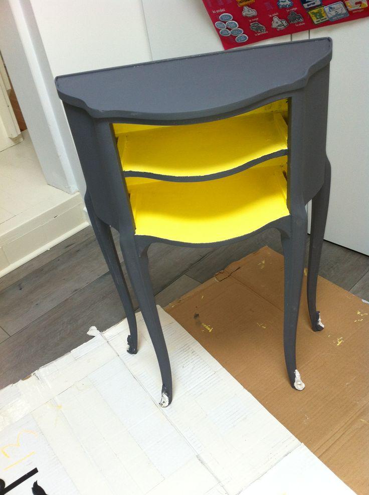 Relooking table de chevet