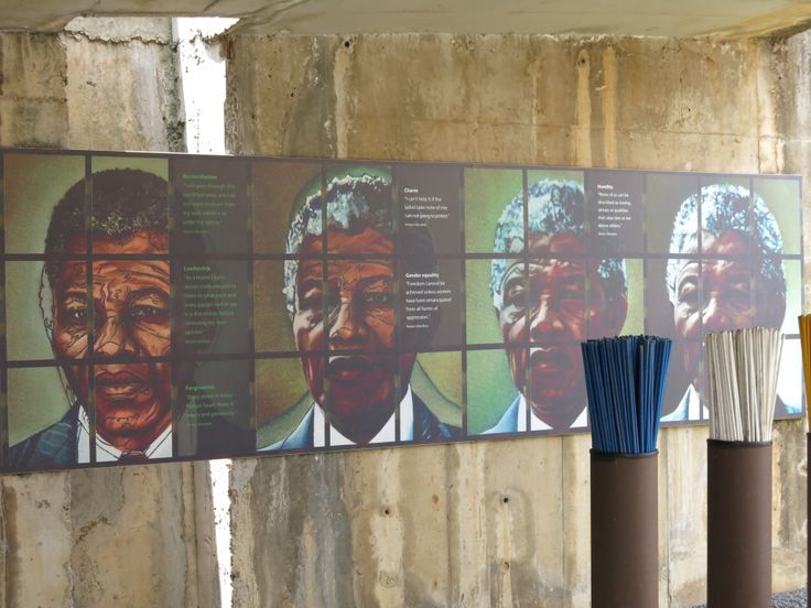 Apartheid Museum in Johannesburg South Africa