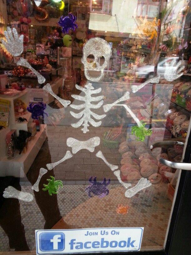 Halloween door at Build a Birthday Wellington