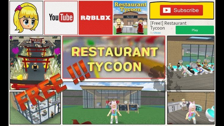 Free! Restaurant Tycoon - the Restaurant Tycoon is now free to play! ROBLOX