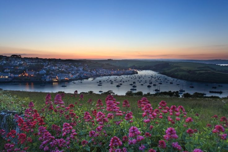 Salcombe Estuary, sunset landscape photography, Devon
