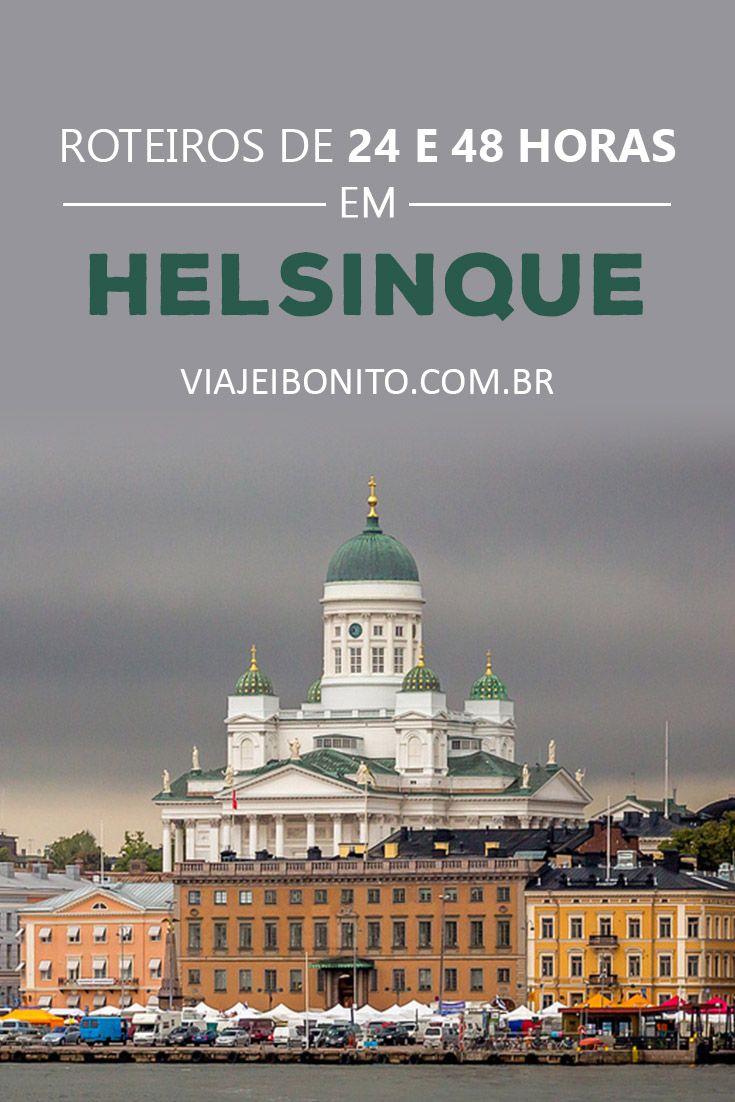 O que fazer em Helsinque. Roteiros de 24 e 48 horas na capital da Finlândia. Créditos: Jonathan / Fonte: Flickr