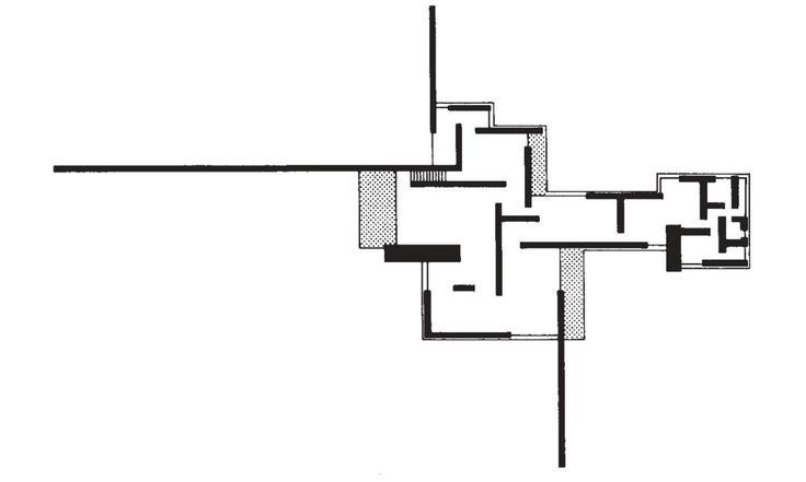 Mies Van Der Rohe House Plan
