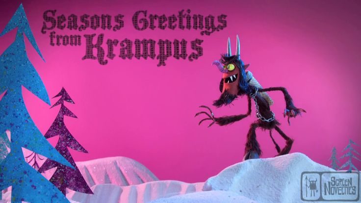 """""""A Krampus Christmas"""" eCard. Unleash Krampus on your naughty friends with our new holiday eCard, a sneak peek at our upcoming Christmas spec..."""