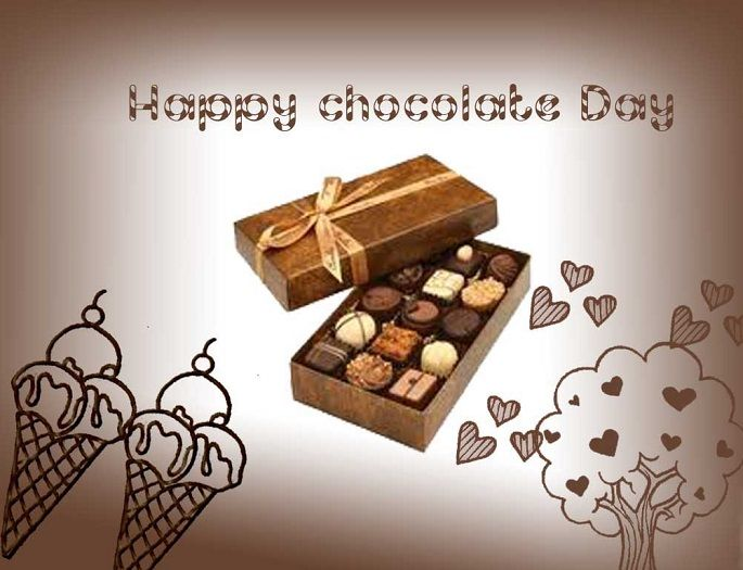 Chocolate Day Wishes For Him