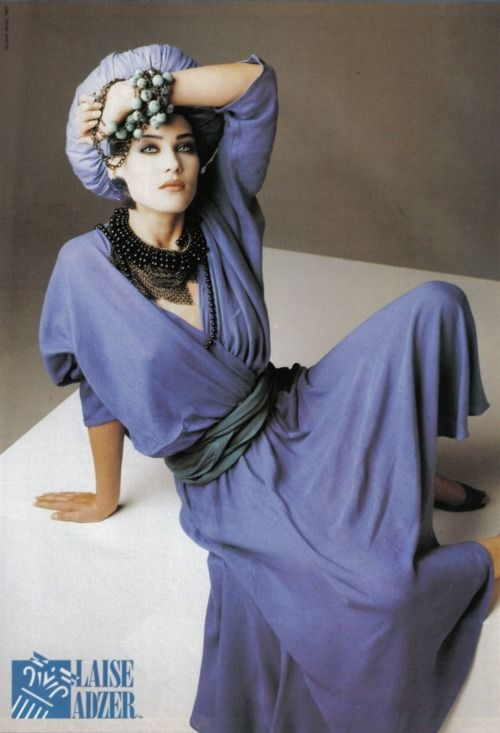 Laise Adzer 1986 Model : Mitzi Martin