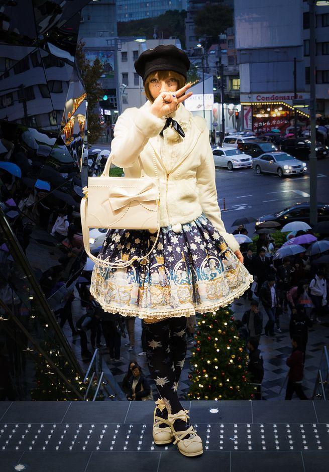 "killingwithfish: ""Christmas in Harajuku """