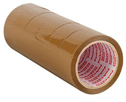 Packatape® - 6 Rotoli Da 48Mm X 66M Di Marrone Nastro Adesivo Per Imballaggi Per Pacchi E Scatoloni. Questo Pacco Da 6 Rotoli Di Nastro Adesivo Per Imballaggi Pesanti Fornisce Una Chiusura Forte, Resistente E Sicura Per I Vostri Pacchi. L'Affidabilità È Assicurata.