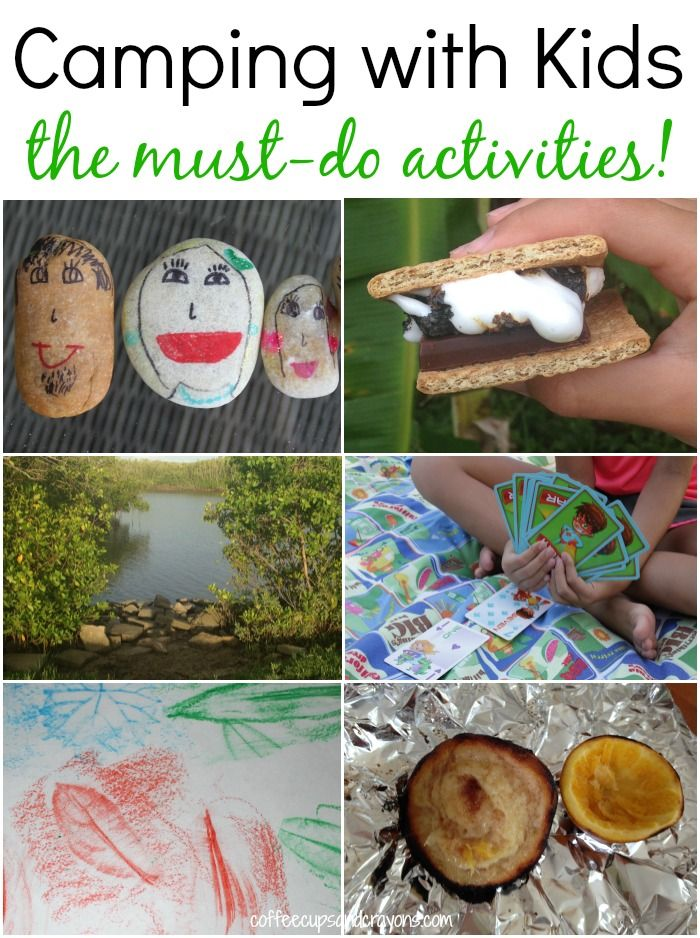 Best 25 Camping Activities For Kids Ideas On Pinterest