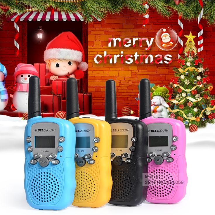 Hadiah ulang tahun! Pair Anak Pink Mini Mainan anak-anak Walkie Talkie T388 Walkie Talkie Untuk Boy Gadis Genggam 2 Way Radio Station