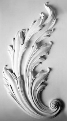 Architectural leaf study