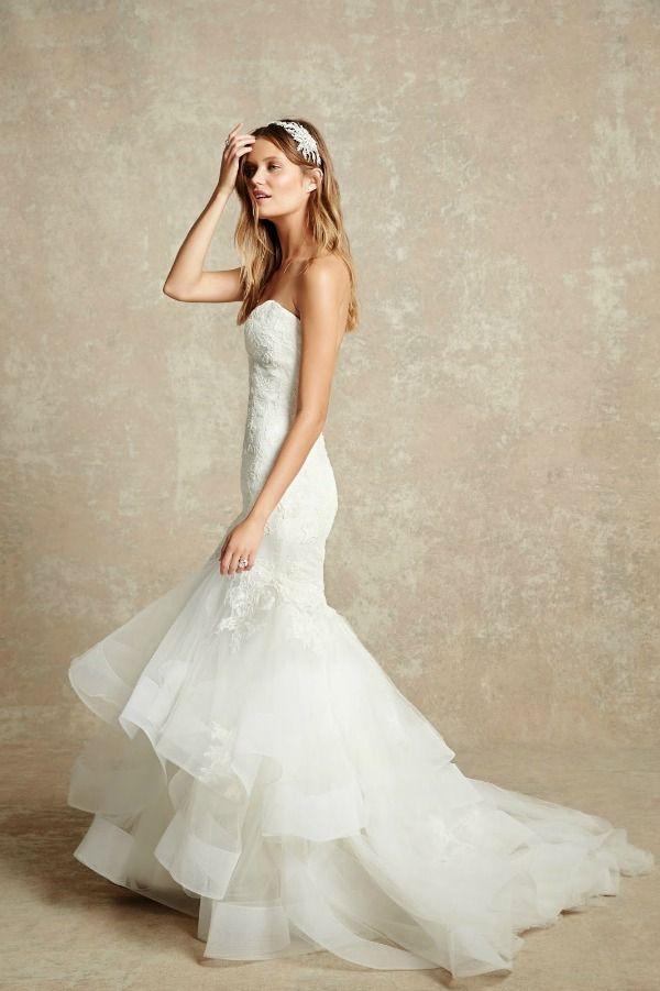 19 best Monique Lhuillier Bliss images on Pinterest   Wedding frocks ...