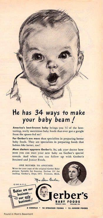 Publicidad antigua de Gerber