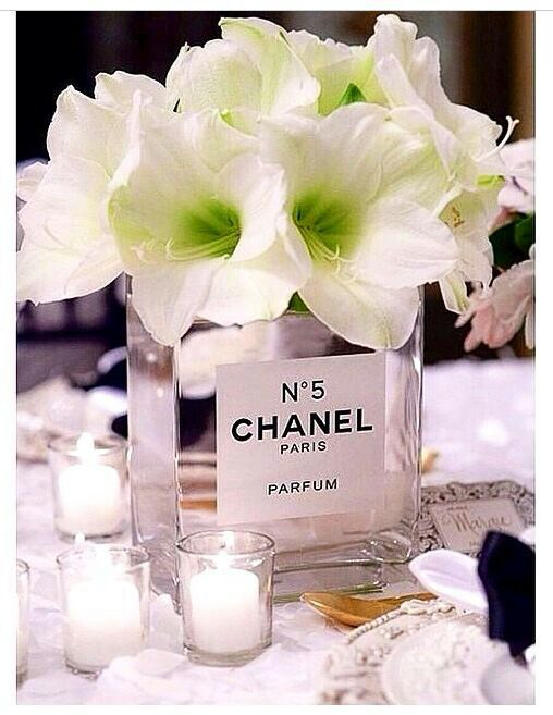Chanel centerpieces