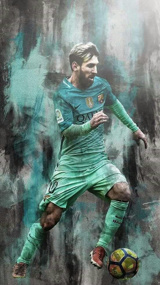 ik ben een grote fan van Lionel messi. hij is de beste voetballer
