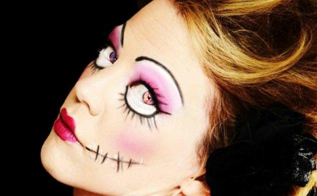 24 Halloween Make up Ideen - Das Gesicht für Halloween völlig verändern