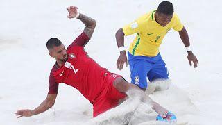 Blog Esportivo do Suíço: Brasil derrota Portugal e vai à semi do Mundial de futebol de areia