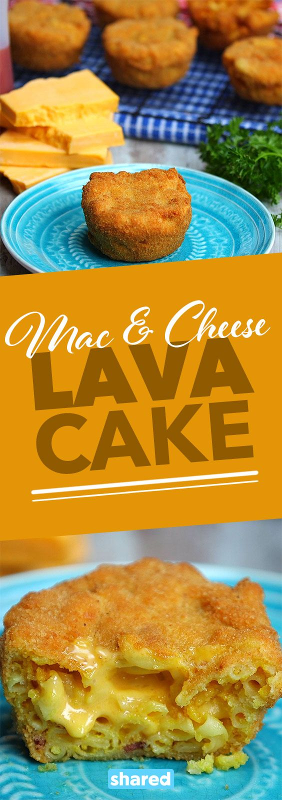 Mac & Cheese Lava Cake