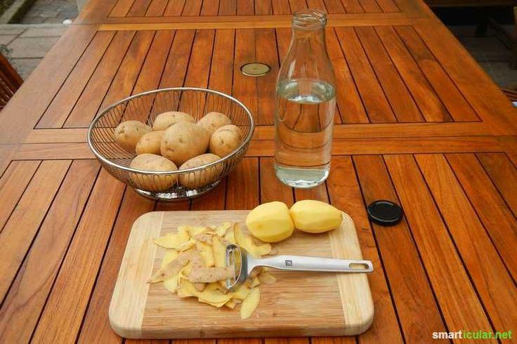 Kartoffeln sich nicht nur lecker, ihre Schalen sind sehr vielseitig einsetzbar. Finde heraus, wie du sie als biologisches Spülmittel weiter verwendest!