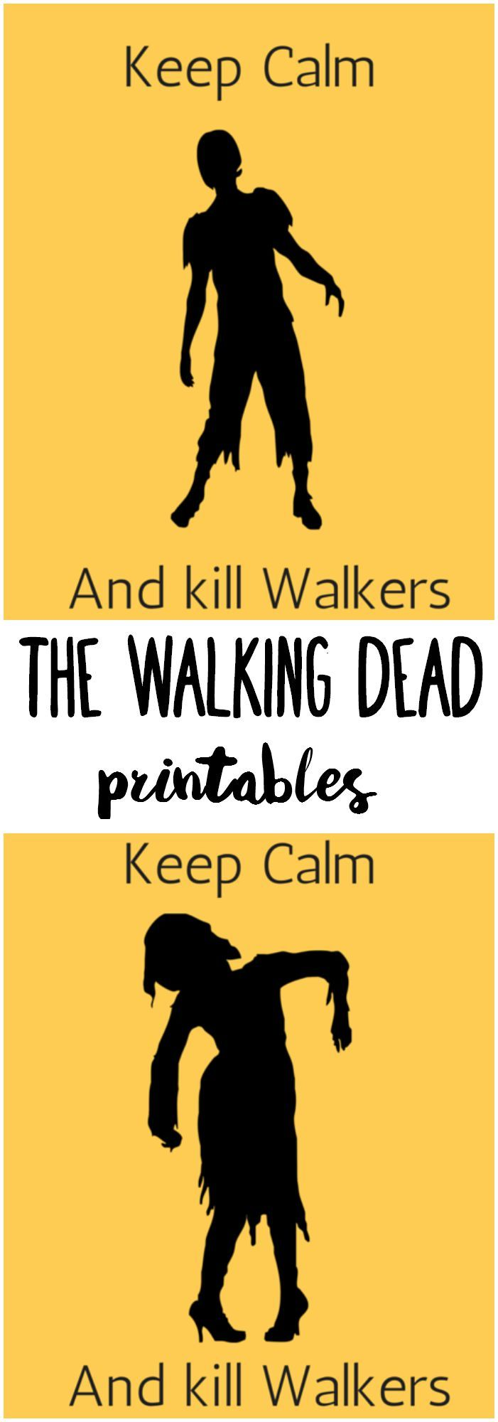 Are you a fan of The Walking Dead? I have a set of free The Walking Dead printables that you may want to take a look at!