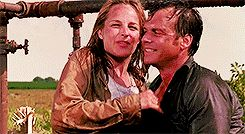 Twister ending scene with Bill and Jo