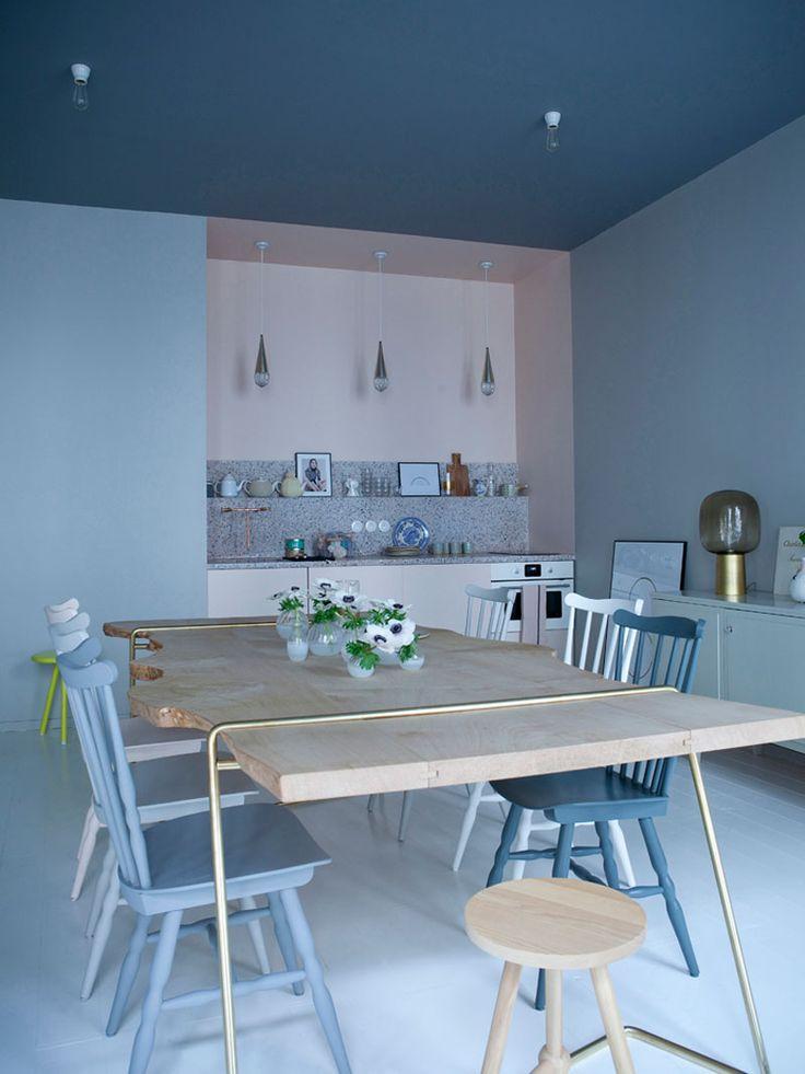 Inspiration // Appartement Marie Sixtine par Sandrine Place et Baptiste Legué