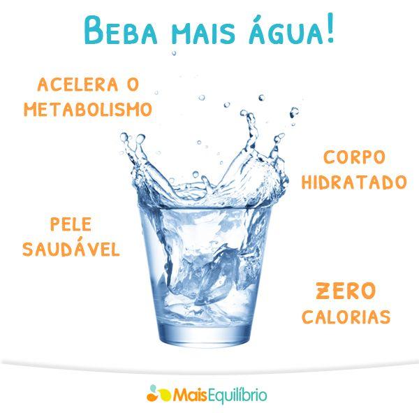 5 benefícios da água para o emagrecimento http://maisequilibrio.com.br/nutricao/a-agua-pode-te-ajudar-a-emagrecer-2-1-1-688.html