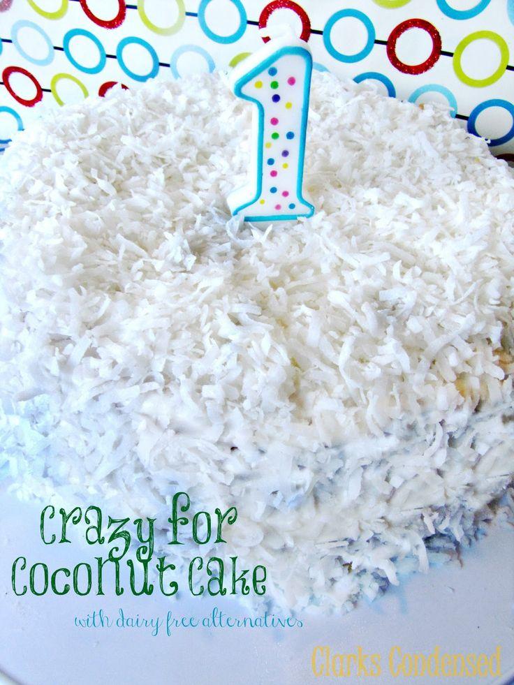 crazy for coconut cake