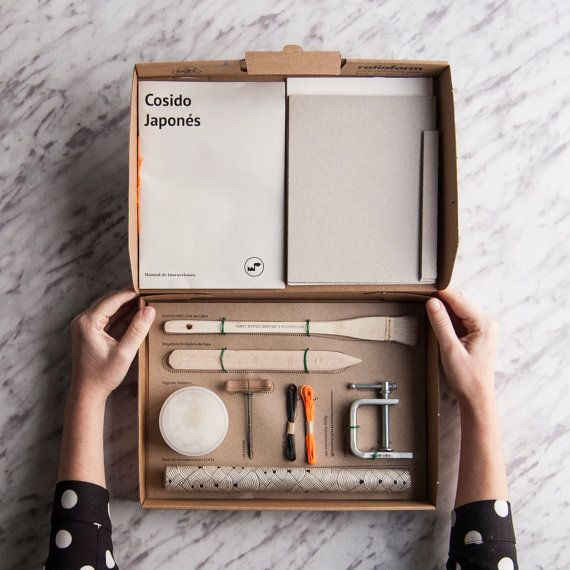 Bookbinding Kit: Japanese Sewing / by TexturesFactory