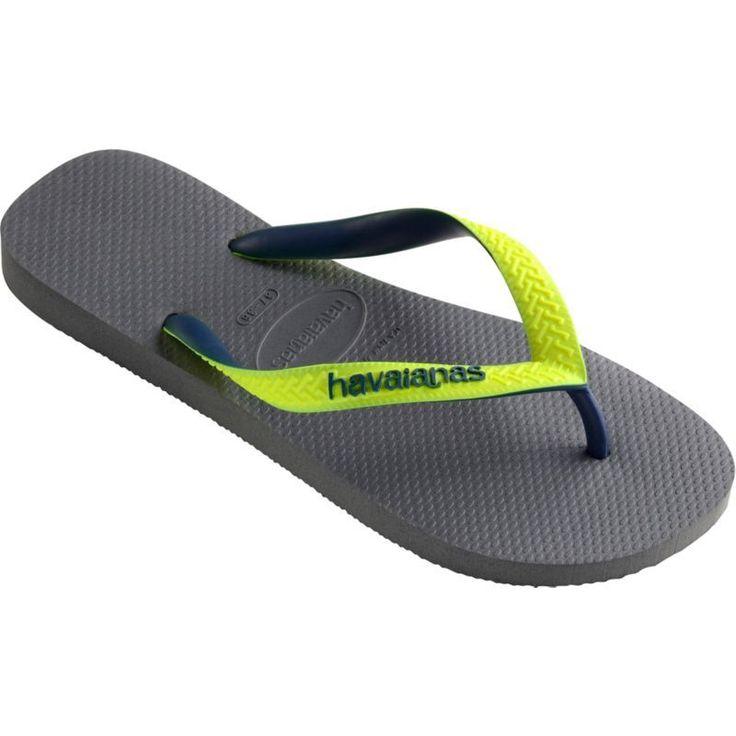 Havaianas Men's Top Mix Flip Flops, Gray