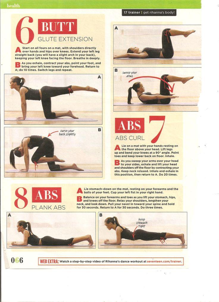 Rihanna Dance Workout Part 4