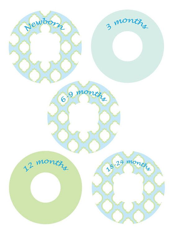 Gifts for friends having Boys! Baby Closet Dividers Organizer Clothing Dividers  by Hisglory, $10.50
