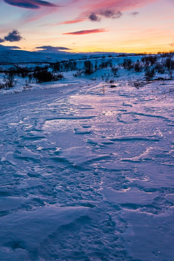 Winter light in Northern Norway