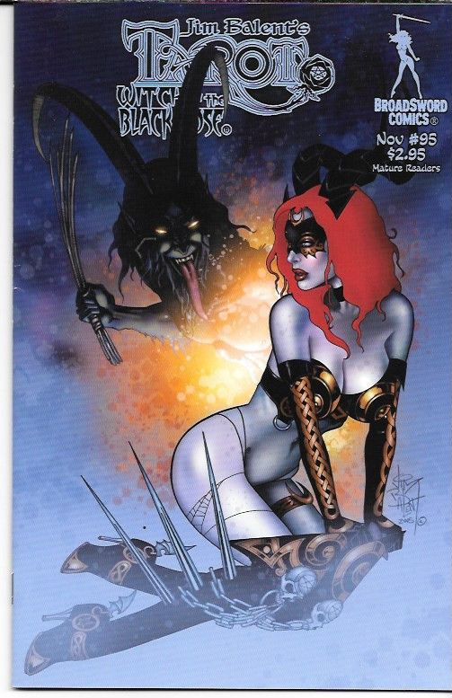 Tarot Witch Of The Black Rose # 95 Broadsword Comics Cover
