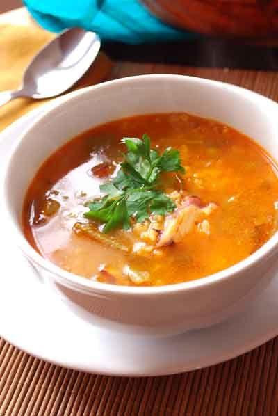 Receta de arroz caldoso con pulpo