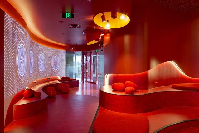 Griffith University Red Zone, Gold Coast Campus by Cox Rayner Architects.